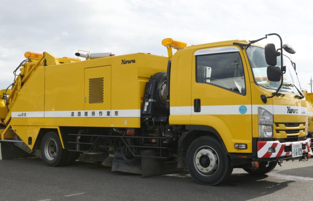 道路清掃車(ロードスイーパー)
