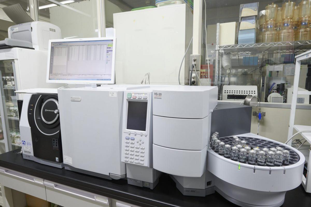 ヘッドスペースガスクロマトグラフ質量分析計(HS/GC/MS)